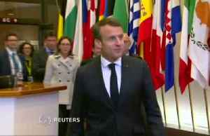 France's Macron stands by tough stance on shorter Brexit delay [Video]