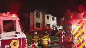 Fire Damages House In Robinson Township [Video]