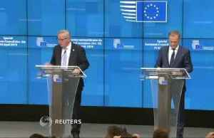 Tusk, Juncker say EU members agree to Brexit extension [Video]