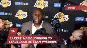The Magic Will No Longer Be With The Lakers [Video]