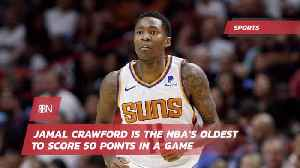 The Oldest NBA Player To Score 50 Pts In A Game [Video]