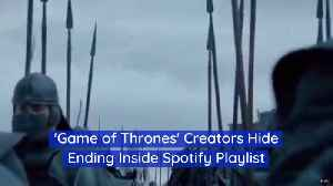 Listen To Spotify For 'Game Of Thrones' Clues [Video]