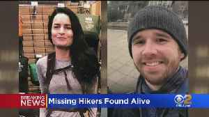 Missing Hikers Found Safe In San Gabriel Mountains [Video]