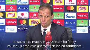 Ajax 1-1 Juventus: Managers satisfied after quarter-final draw [Video]