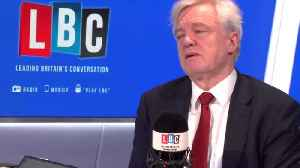 I Would Vote For May's Deal, Says Sceptical David Davis [Video]