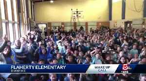 Wake Up Call from Flaherty Elementary [Video]