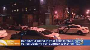 Police Investigating Deadly Shooting In East Falls [Video]
