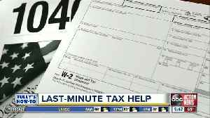 Find last minute tips to do your taxes [Video]