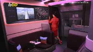 Have Afternoon Tea in the Clouds on Virgin Atlantic's Swanky New Plane [Video]
