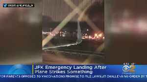 Emergency Landing At JFK Airport [Video]