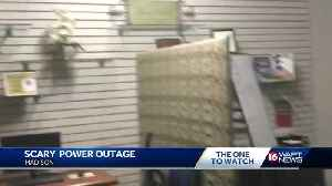 Scary movie? No, power outage [Video]