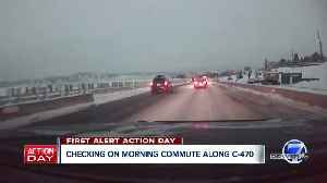 Traffic conditions slow across Denver metro area after snowstorm [Video]
