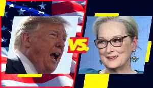 A timeline of Donald Trump & Meryl Streep's feud [Video]