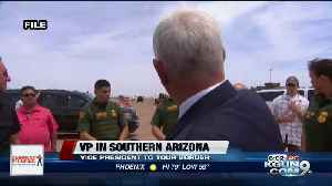Pence to visit US-Mexico border on Thursday [Video]