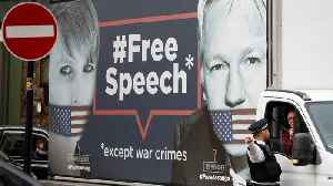 News video: Assange Arrested By British Police After Ecuador Abruptly Revoked His Asylum