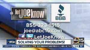 Let Joe Know solves your consumer problems [Video]