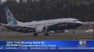 Shareholder Sues Boeing For Fraud Over 737 Max Issues [Video]
