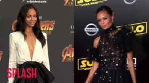 Zoe Saldana's Mother Thinks She's Thandie Newton [Video]