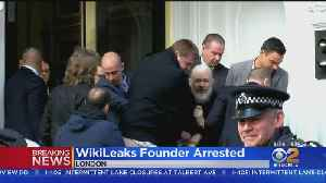Wikileaks Founder Julian Assange Arrested, Dragged Out Of Ecuadorian Embassy [Video]