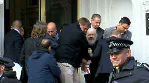 WikiLeaks founder Julian Assange arrested and dragged out of embassy after US extradition request [Video]