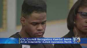 City Council Recognizes Artist Kambel Smith [Video]
