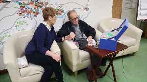 Husband living with dementia reconnects with his wife thanks to a 'Music Memory Box' [Video]