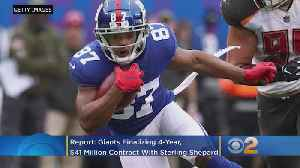 Reports: Giants Finalizing 4-Year, $41 Million Contract Extension With Wide Receiver Sterling Shepard [Video]
