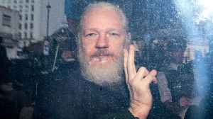 News video: Julian Assange Arrested, Charged With Conspiracy To Hack Government Computer | THR News