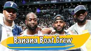 Banana Boat Crew CELEBRATE Dwyane Wade's FINAL NBA Game! [Video]