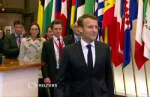 Macron fights lonely EU battle over Brexit [Video]