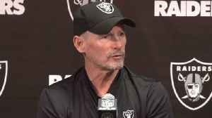 Oakland Raiders general manager Mike Mayock: Derek Carr is 'franchise' quarterback, but we're doing 'due diligence' on prospects [Video]