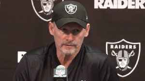 Oakland Raiders general manager Mike Mayock: 'I'd love to get a couple more picks' in the No. 20-60 range [Video]