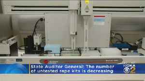 Auditor General: Backlog Of Untested Rape Kits Is Decreasing [Video]