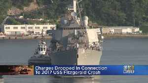 Charges Dropped In Connection To 2017 USS Fitzgerald Crash [Video]