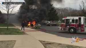 School Bus Catches Fire In New Jersey [Video]