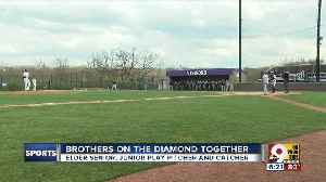 Brothers on the diamond together [Video]
