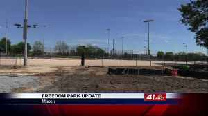 Freedom Park baseball field construct will be complete in June [Video]