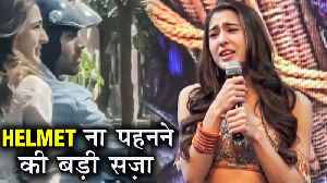 Police Complaint FILED Against Sara Ali Khan For Breaking Traffic Rules | Love Aaj Kal 2 [Video]