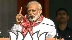 PM Modi hits Congress over corruption during his rally in Assam | Oneindia News [Video]