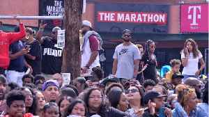 Nipsey Hussle's Store Becomes Sacred Ground For Fans [Video]