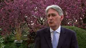 Hammond dismisses Farage's new Brexit Party [Video]