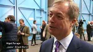Nigel Farage bets £1,000 at 3/1 on Brexit Party victory [Video]