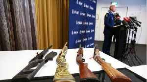 News video: New Zealand's Ban On Assault Rifles Is Now In Effect