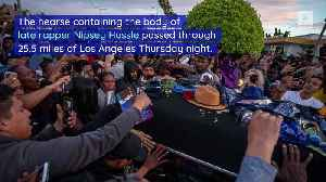 Shooting Near Nipsey Hussle's Funeral Procession Leaves 3 Injured, 1 Dead [Video]
