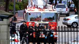 News video: Man Hospitalized After Lighting Jacket On Fire Outside White House