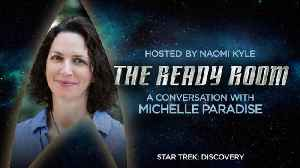 The Ready Room: Episode 12 - Michelle Paradise [Video]