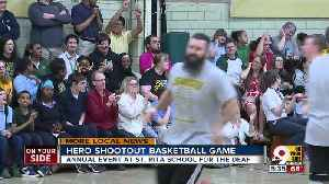 St. Rita School for the Deaf holds Hero Shootout Basketball Game [Video]