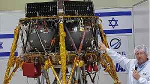 Israeli Spacecraft Goes Out With A Bang [Video]