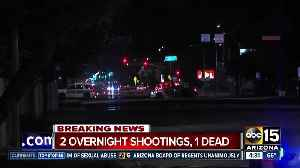 At least 1 dead after Phoenix shooting incidents [Video]