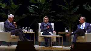Assange should 'answer for what he has done': Clinton [Video]